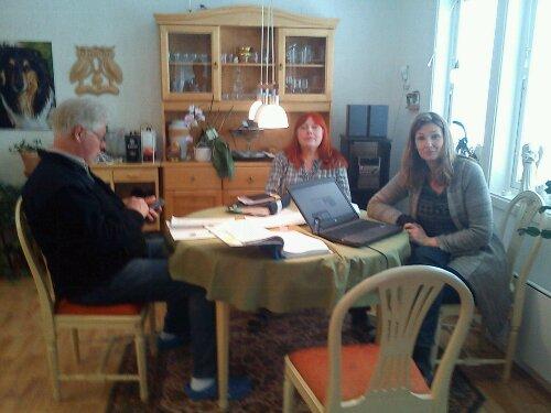 Mats, Lisbeth och Carina är teamet bakom Bättre Ledare